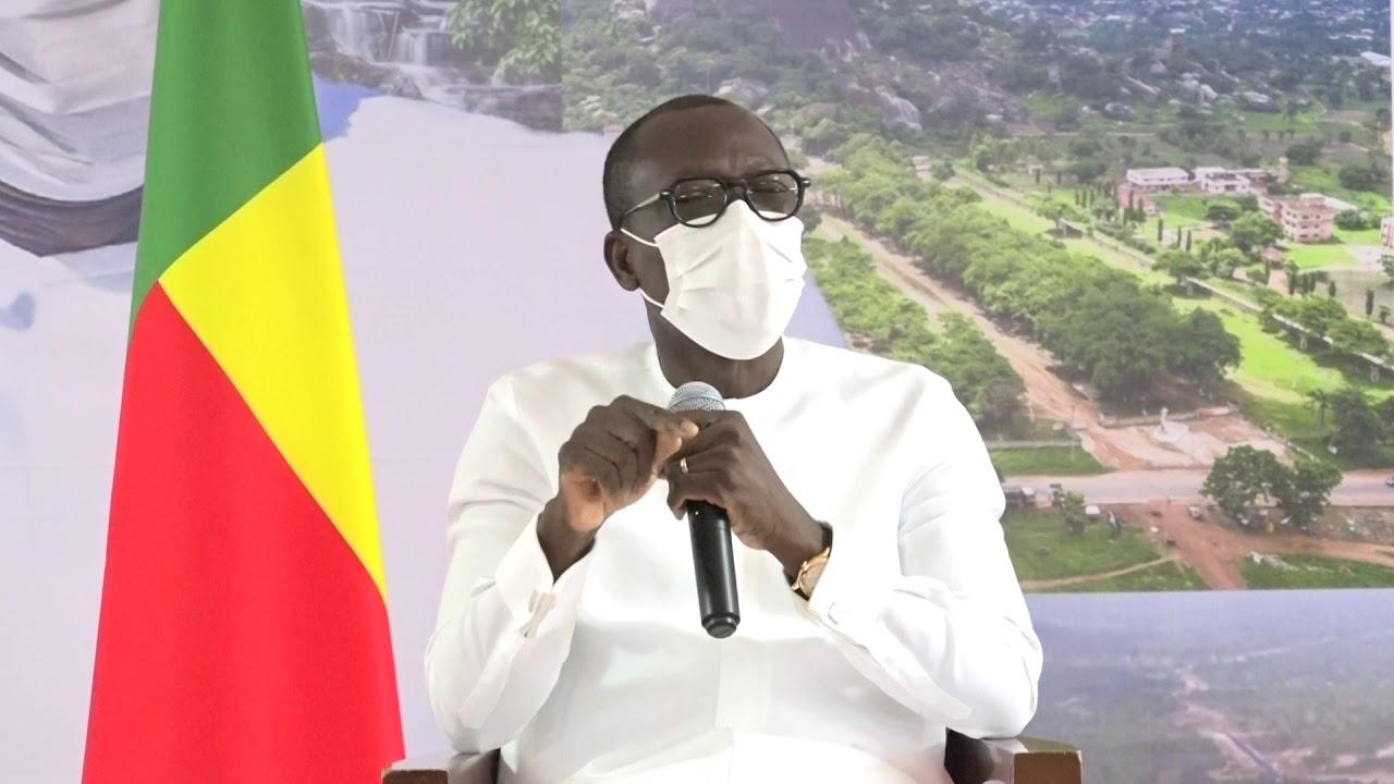 Tournée présidentielle : Patrice Talon à Ouaké
