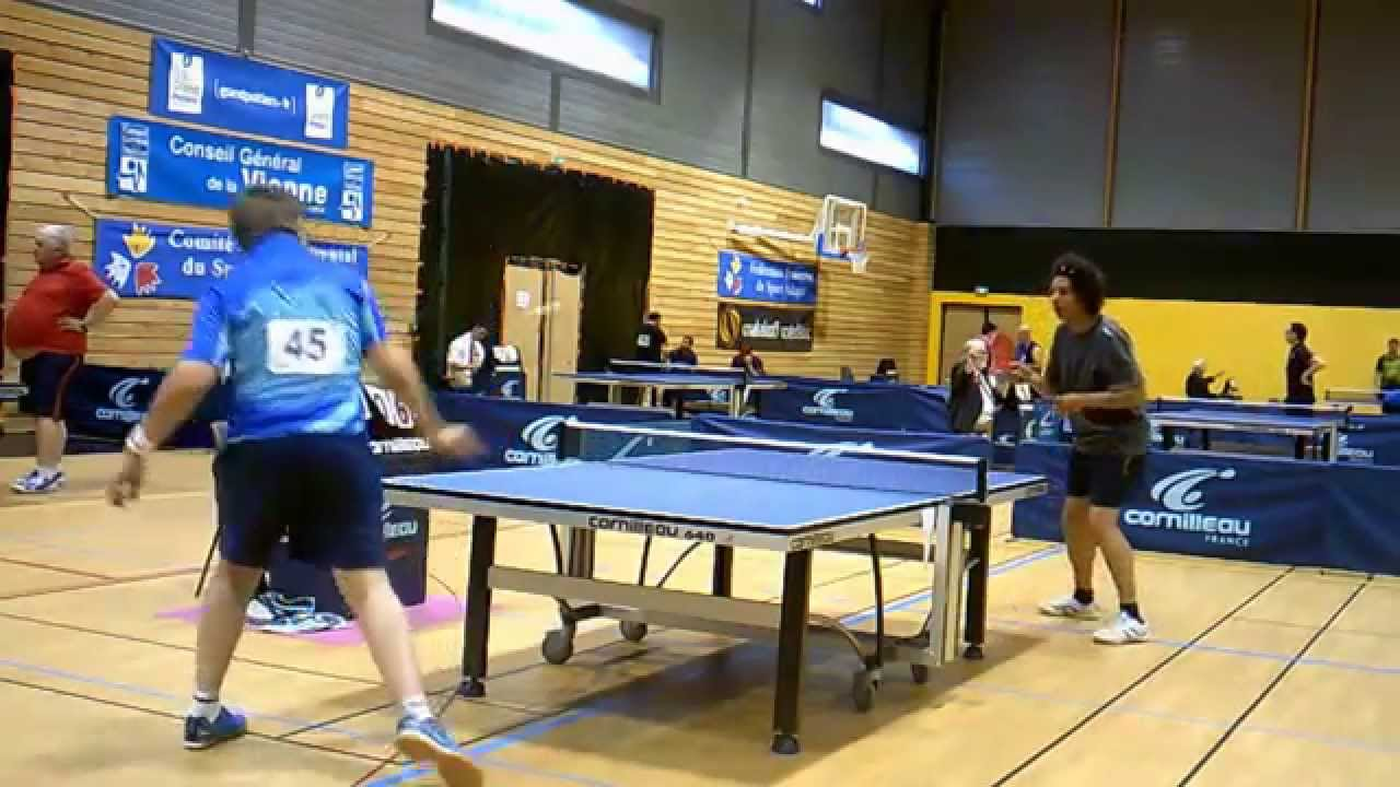 Championnat de france de tennis de table en sport adapt - Championnat de france de tennis de table ...