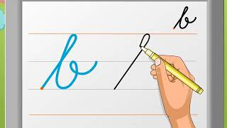 Cursive Writing | Small Letter 'b' | Macmillan Education India