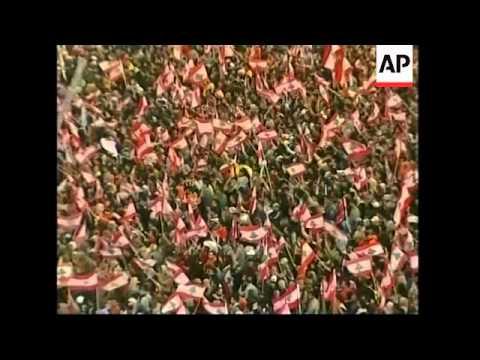 Lebanon marks civil war anniversary amid political, sectarian tensions