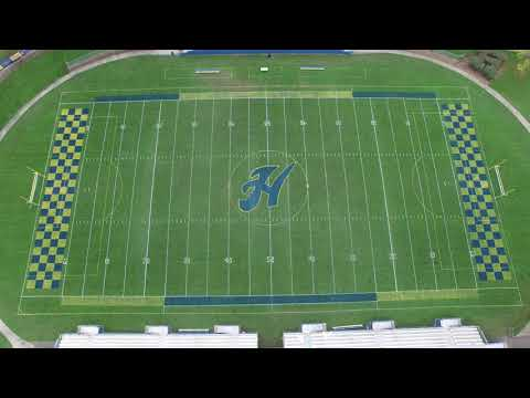 HHS Todd Field  Homecoming Paint Job P 2017