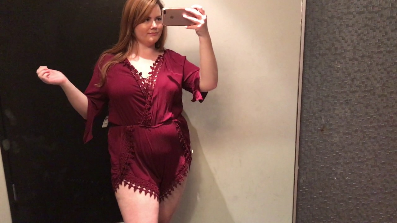 516d7dae300 Inside The Dressing Room: Charlotte Russe Plus | Plus Size Fashion Summer  2017