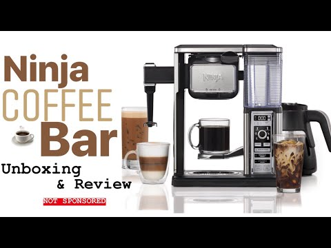 NINJA COFFEE BAR | UNBOXING & REVIEW