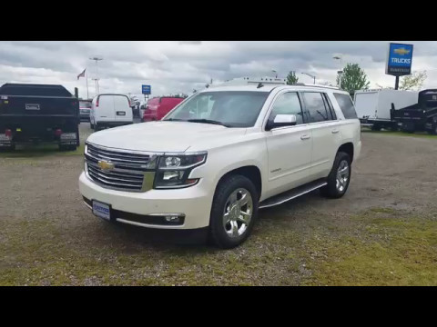 2017 Chevy Tahoe Ltz Certified Pre Owned White Diamond Tricoat