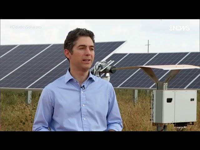 GLOBO NEWS CIDADES E SOLUÇÕES DESTACA CRESCIMENTO DA ENERGIA SOLAR NO BRASIL