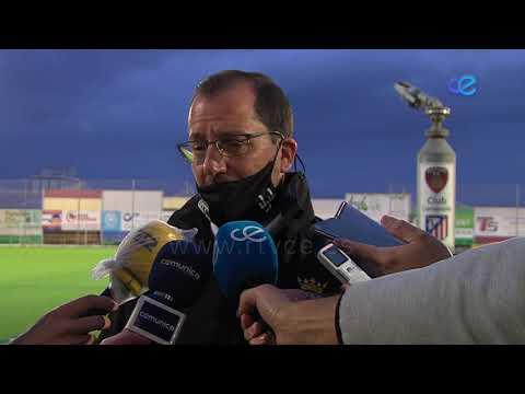 """José Juan Romero, """"muy contento"""" con el empate en Puente Genil"""