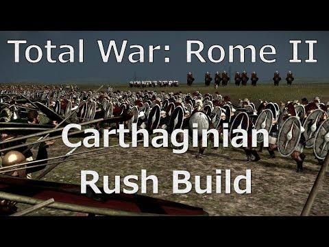 Carthaginian Rush Tactics - Total War: Rome II Online Battle #18