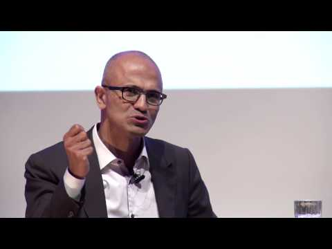 Satya Nadella zu Gast an der TU Berlin