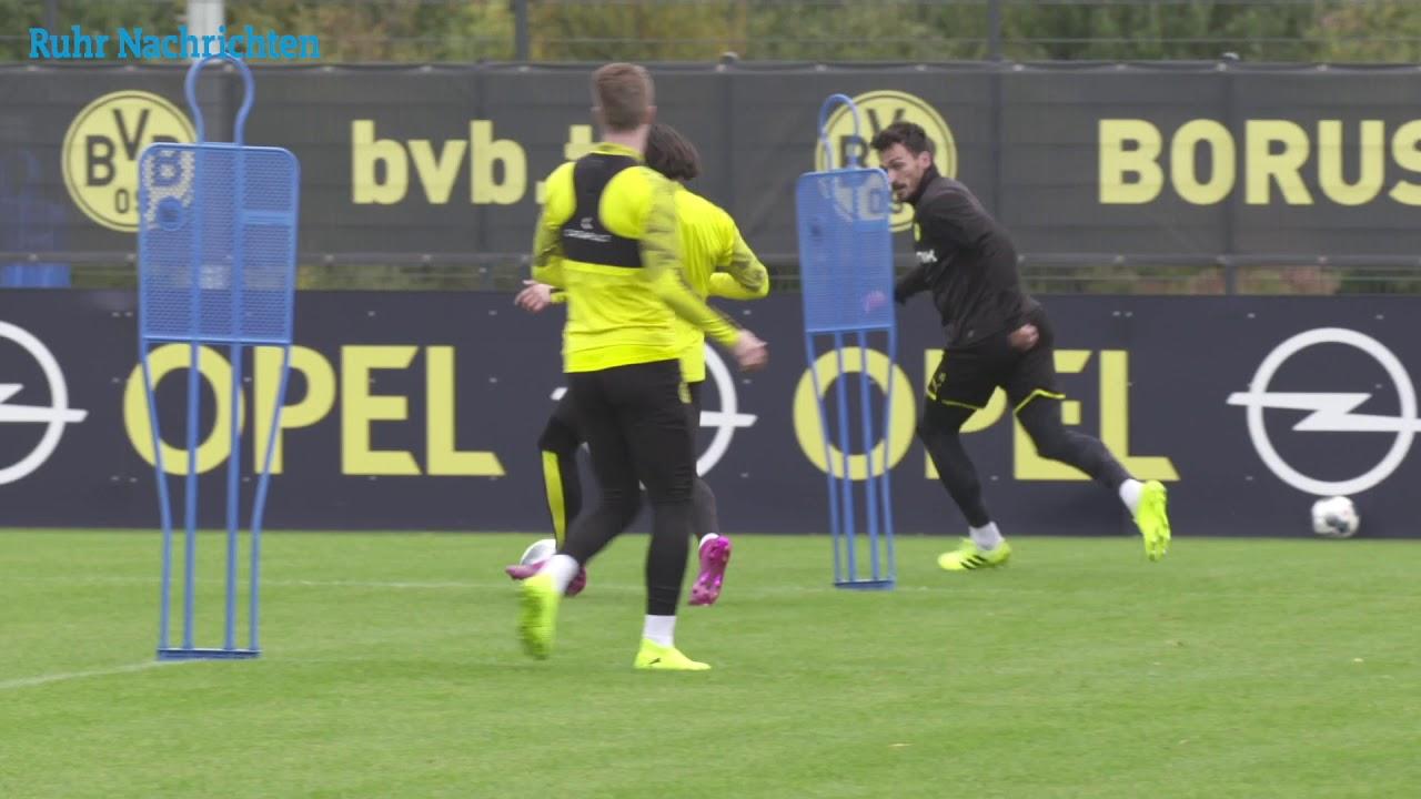 Die Nationalspieler sind zurück im BVB-Training