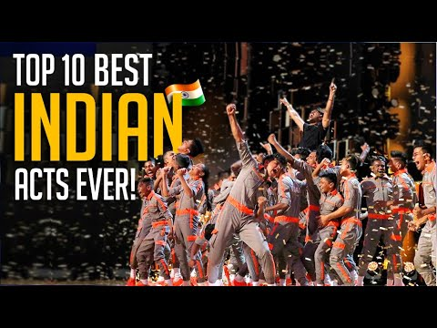Top 10 BEST 🇮🇳 Indian Acts On The World's Biggest Talent Shows!
