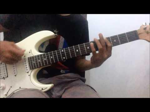 andra and the backbone - terdalam guitar cover