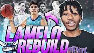 CHARLOTTE HORNETS LAMELO BALL REBUILD IN NBA 2K21 NEXT-GEN