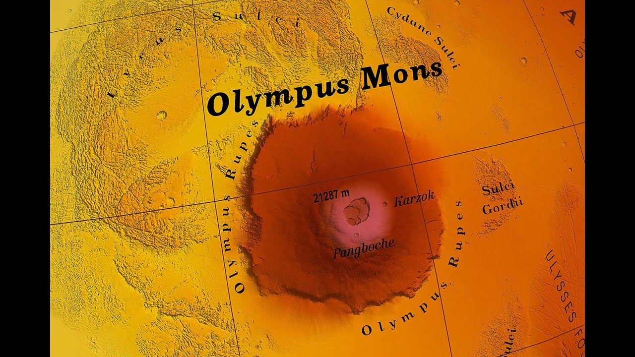 biggest volcano in our solar system - photo #27