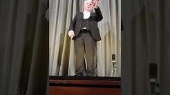 Letzte Vorstellung des Millowitsch-Theaters - Rede von Peter Millowitsch