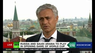 José Mourinho and RT's World Cup 2018 special coverage (streamed live)