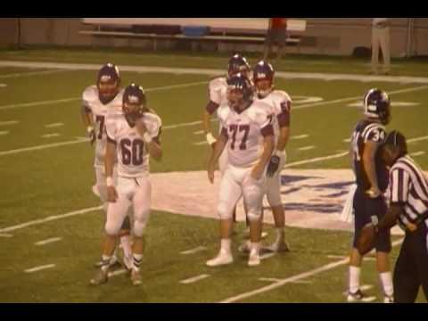 Bessemer Academy Football Pick 6 vs Lamar School Of Meridian Mississippi At Cramton Bowl