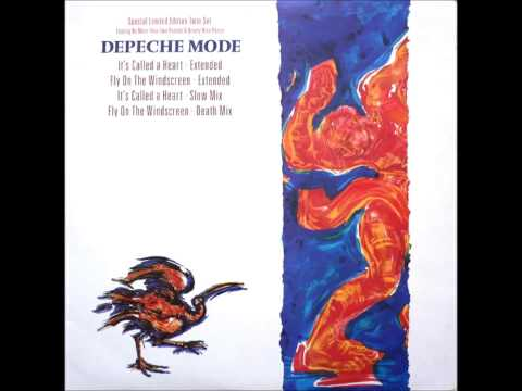 Depeche mode fly on the windscreen extended