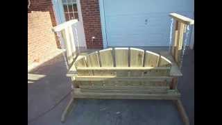 Porch Swing Glider, Check It Out.