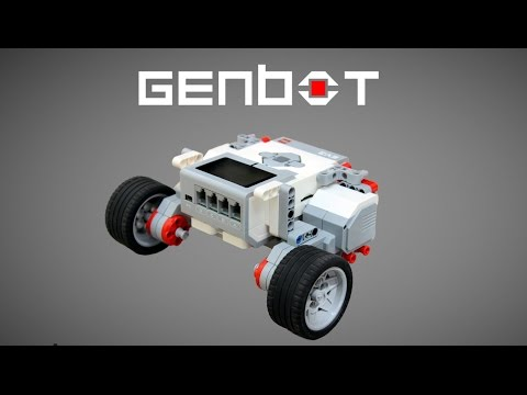 Make your First Lego Mindstorms EV3 Robot - GenBot - YouTube