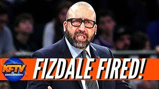 BREAKING New York Knicks News: David Fizdale Fired!| Mike Miller Named New Coach!
