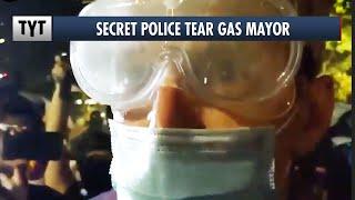 Trump's Secret Police Tear Gas Portland Mayor