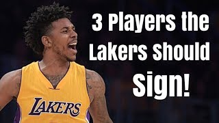 3 Players the Los Angeles Lakers Should Sign With Luol Deng Gone! | More Help For LeBron James!