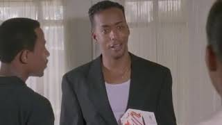 A Thin Line Between Love & Hate (1996) - Darnell Visits Brandi Web's Office