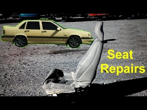 Heated seat repair, broken thermostat wire, Volvo 850 and others – VOTD