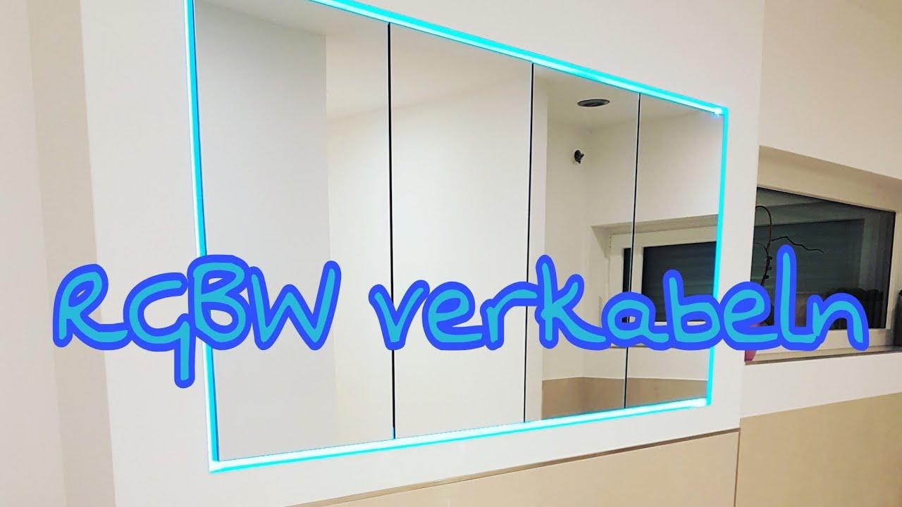 Knx Rgbw Verdrahten Verkabeln Led Beleuchtung Smarthome Die Siwuchins Youtube