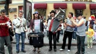 Топоркестра в Одессе.Toporkestra in Odessa.
