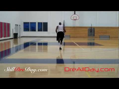 LeBron Dribbling Double Suicide Conditioning Drill | Endurance Stamina Basketball | Dre Baldwin