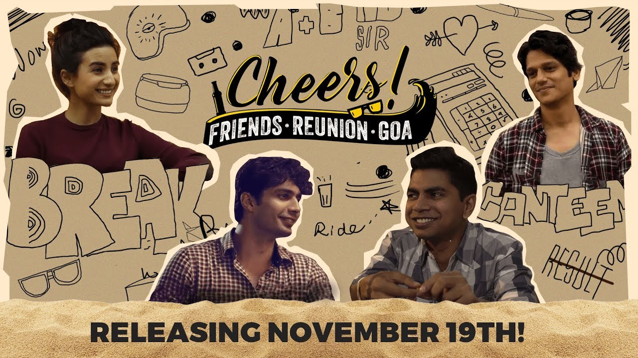 Cheers - Friends  Reunion  Goa | Web Series | Official Teaser | Cheers!