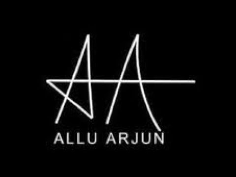 allu arjun signature a a dance youtube