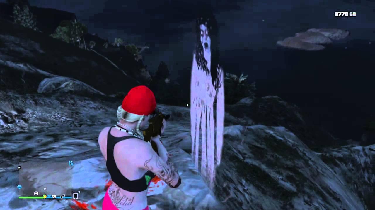 GTA 5 Ghost Girl/Location - YouTube