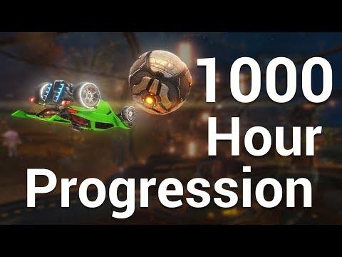 First 1000 Hours | Rocket League Progression Montage