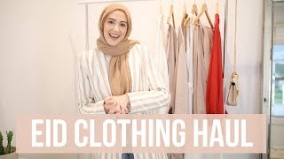 WHAT I'M WEARING FOR EID! | Mini Eid Clothing Haul | With Love, Leena