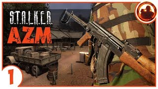 КРЕЩЕНИЕ ЗОНОЙ. S.T.A.L.K.E.R. Another Zone Mod 01