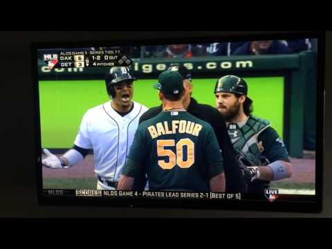 Grant Balfour & Victor Martinez F Bombs