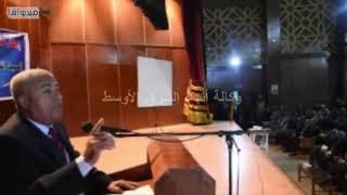 بحضور محافظ اسوان وعدد من المحافظين السابقين مؤتمر الشعبى بمناسبة الإحتفال بالعيد القومى