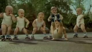 2010 Evian Roller Skating Babies Commercial