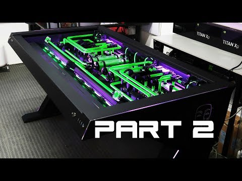 "Custom Pc Build#38 ""Erebus"" The Ultimate, EPIC EXTREME Desk PC of 2018"