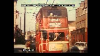 Trolleybuses. 1950's - Film 3120