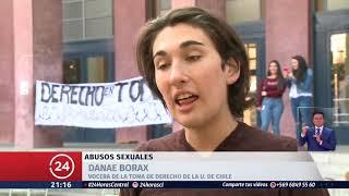 Tomas en universidades protestan contra los abusos sexuales