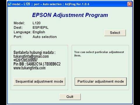 Download Software Epson L360