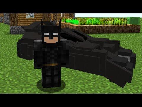 Batman in Minecraft Vanilla! - Minecraft Command!