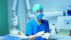 Miten hoitohuone valmistellaan leikkauksellista hampaan poistoa varten - Opetusvideo