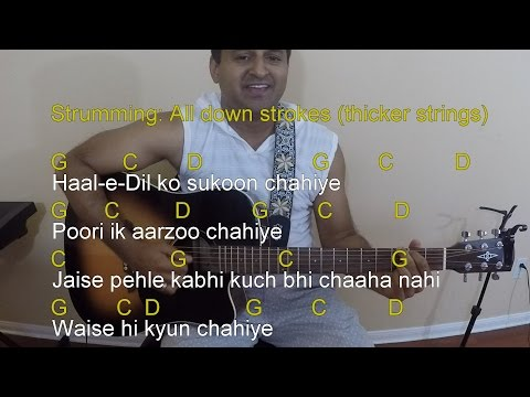 Tu chahiye guitar lesson & cover | Bajrangi bhaijaan | BE-002