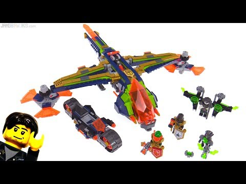 LEGO NEXO Knights Aaron's X-Bow review! 72005