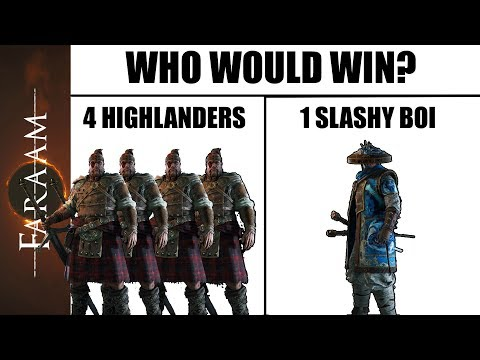 [For Honor] Who would win? The new Aramusha is awesome!