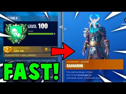 FASTEST Way To  GAIN XP + TIER UP in SEASON 5 FORTNITE! (Fortnite Battle Royale)